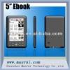 "5"" ebook reader"