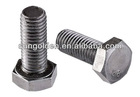 din 933 stainless steel grade 10.9 hex bolt with metric thread