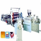 PVC paint free and foam plate production line