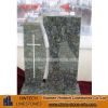 polished green granite tombstones