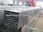 ASTM A500 Pre galvanized steel square tubing price