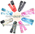 [DIA] Password lock luggage belt/heat-transfer printedcolorful luggage strap