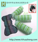 100%nylon beauty tool velcro hair rollers