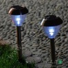 Stainless steel promotional solar lamp