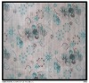 100%cotton voile printed fabric