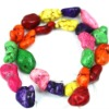 12*16mm natural colorful turquoise beads TQB0074