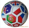 flag soccer ball