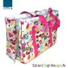 Cute printing unique cat carrier bag