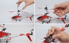 Alloy small 3 channel rc helicopter