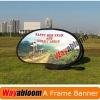 Round outdoor Banner