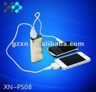 5000mAh power bank factory price for iPhone,iPad,iPod,psp,DV,DC,MP3,MP4,PDA