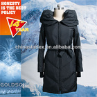 2013 America Fashion Women Big collar Long Down Coat