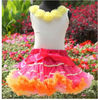 2013 New! Girls wholesale Sweet Fancy Outfit Top and Skirt for 1-10year