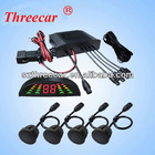4 channel digital read out intelligent parking assist system