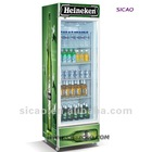 360L Display Upright Beverage Fridge Showcase Cooler