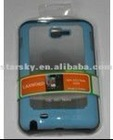 ABS light blue phone case beautiful
