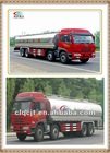 Top quality Stainless steel Dongfeng 8*4 Milk transport tanker truck
