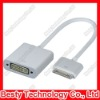 30 pin Dock Connector for iPhone 4S New iPad iPad3 iPad 2 to DVI Converter