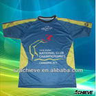 Custom sublimated t shirts top high quality