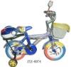 cartoon children bicycle ZY0074