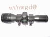 4x32ao mildot red/green compact riflescope
