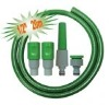 "1/2"" garden hose with connectors"