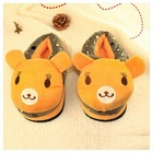 2012 new bear slippers fashional winter indoor slipper(KN-SL-71)