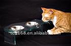 customized acrylic pet feeder