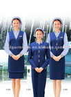 2012 New Fashion Red Airline Uniform For Women