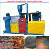 Dry used wire cable recycling equipment stock