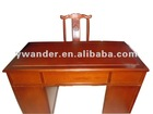 classic 2 pieces solid wood desk and chair