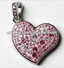 lovers gift heart usb memory,heart pen drive ,hotsales usb disk