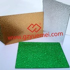 translucent polycarbonate sheet and embossed door panel sheet