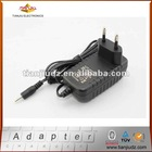 Wall mount travel power charger, output 12V1A 12W Series, with CE/FCC certification