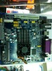 MINI ITX motherboard intergrated with cpu intel atom d525 and VGA