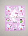 hello kitty pvc sticker
