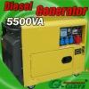 Diesel silent generator(SDG5500SBTE)