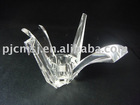 decorative crystal candle holder,bird shaped candle holder