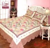 100% cotton washed quilt/embroidery pattern / square /