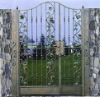 wrought iron entrance door xm2008/single door design