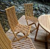 Outdoor Bamboo Garden Folding Chair