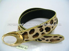 2012 hot personalized belts with leopard