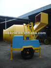 JZJC350EH Hydraulic Tipping Hopper Electric Concrete Mixer