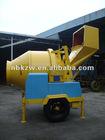 JZJC350EH Hydraulic Tipping Hopper Electric Concrete Mixer