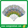 promotion plastic custom fan