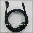 HDMI cable 1.4 with ethernet and 3d right angle to straight angle