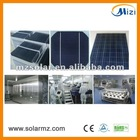 High efficiency Poly crystalline silicon solar cell 156*156mm solar cell panel CE,ROSH,TUV,UL......
