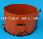 belt type heaters drum heater 250*1740*1.5mm,230V,2000W,0-280C with digisplay thermostat
