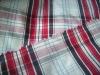 yarn dyed check fabric