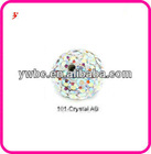 AB crystal white clay beads accessories (Z500119)